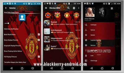 BBM MOD Manchester United FC Themes New V2.12.0.11 APK