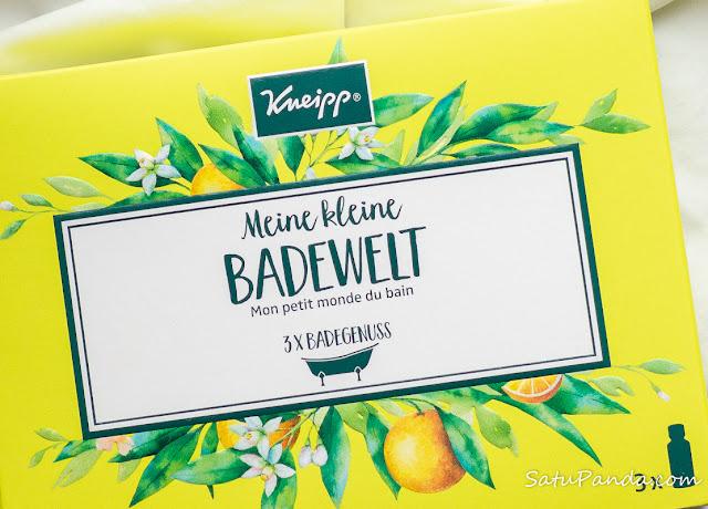 Kneipp My Little Bathing World набор масел для принятия ванны