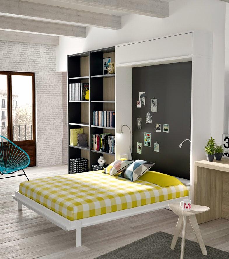 Cama abatible vertical disponible para medida de cama de - Camas muebles plegables ...