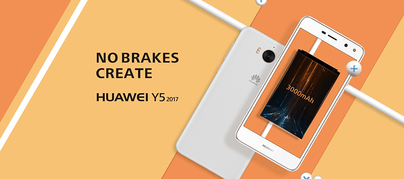 Huawei Y5 2017 Is An Entry Level Phone With LTE And Wide Angle Selfie Cam!