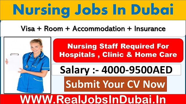 Nursing Jobs In  Dubai with Good Salary & Benefits .