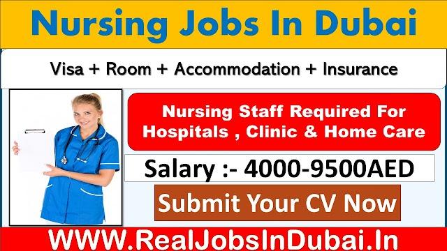 Nursing Jobs In  Dubai with Good Salary & Benefits .