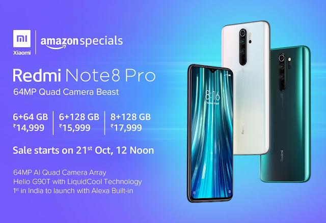 Xiaomi redmi note 8 pro price , redmi note 8 price