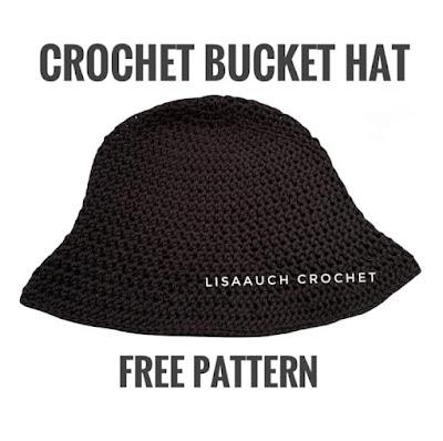bucket hat- crochet bucket hat pattern-