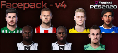 PES 2020 Facepack V4 by Farouk