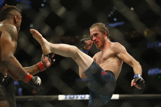 Thomas Gifford contract released by UFC after knockout loss in tampa