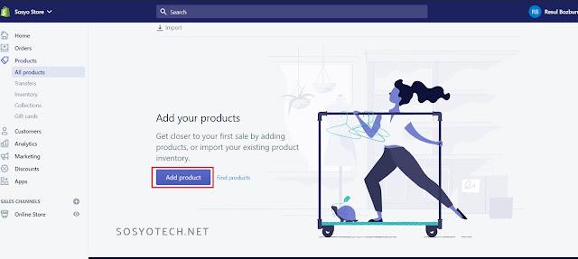 shopify-ürün-ekleme
