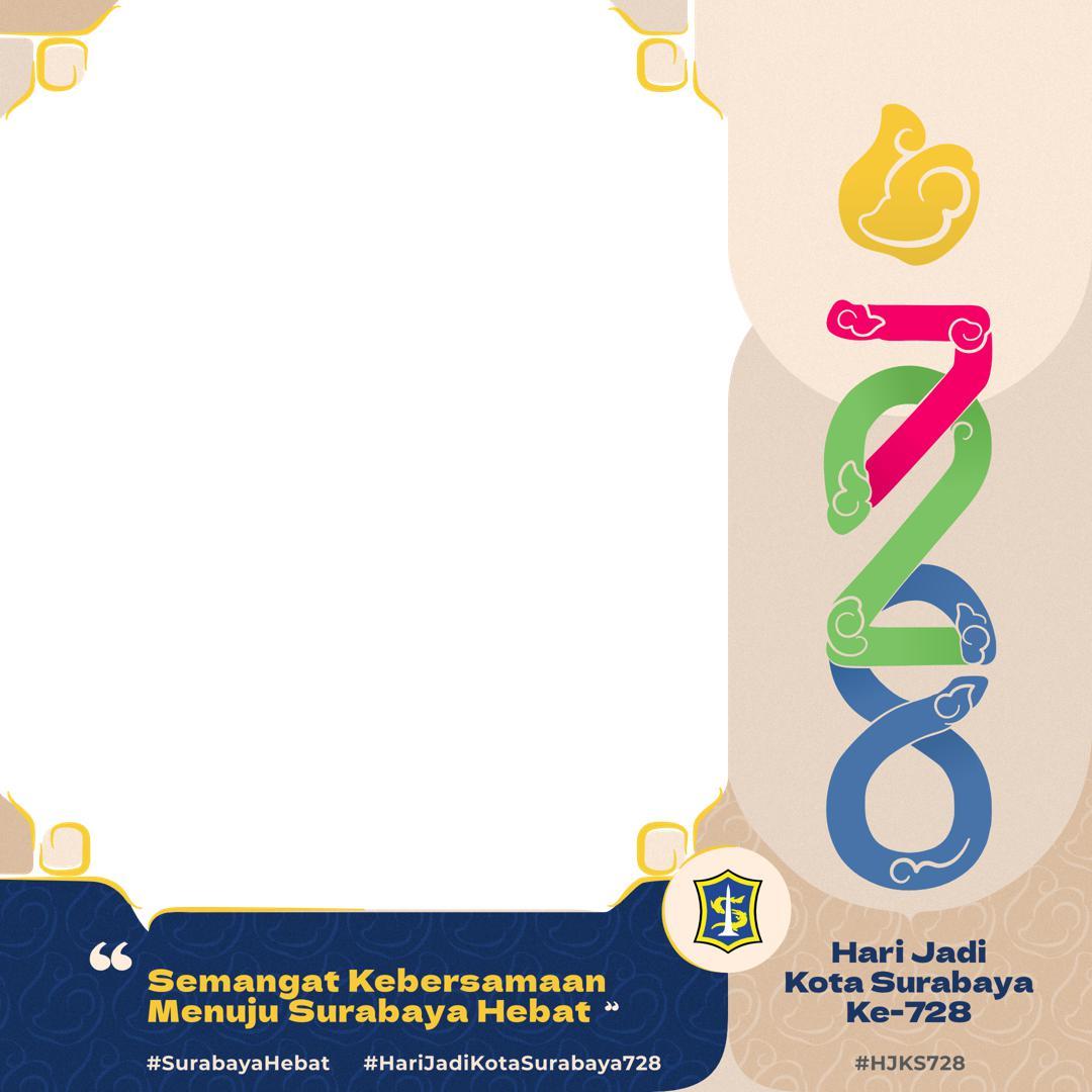 Link Download Twibbon Hari Jadi Kota Surabaya Ke-728 Tahun 2021 Gratis