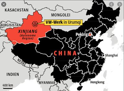 Volkswagen  Xinjiang plant