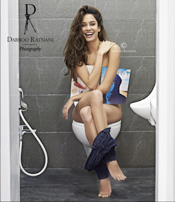 Lisa Haydon shoot for Dabboo Ratnani 2016 Calendar