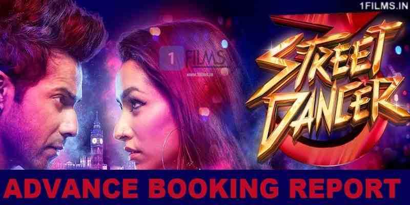 Street Dancer Advance Booking Report Poster