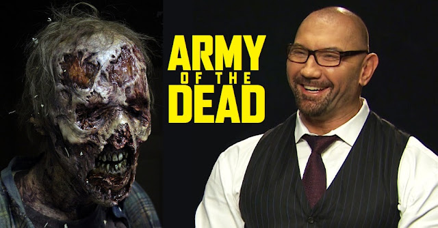 Zack Snyder dan Dave Bautista Filmkan Army of The Dead untuk Netflix