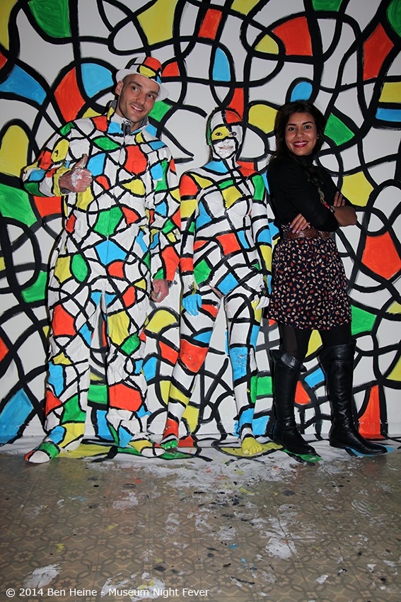 Artist Ben Heine with Agent Najwa Borro - 2014 - Museum Night Fever