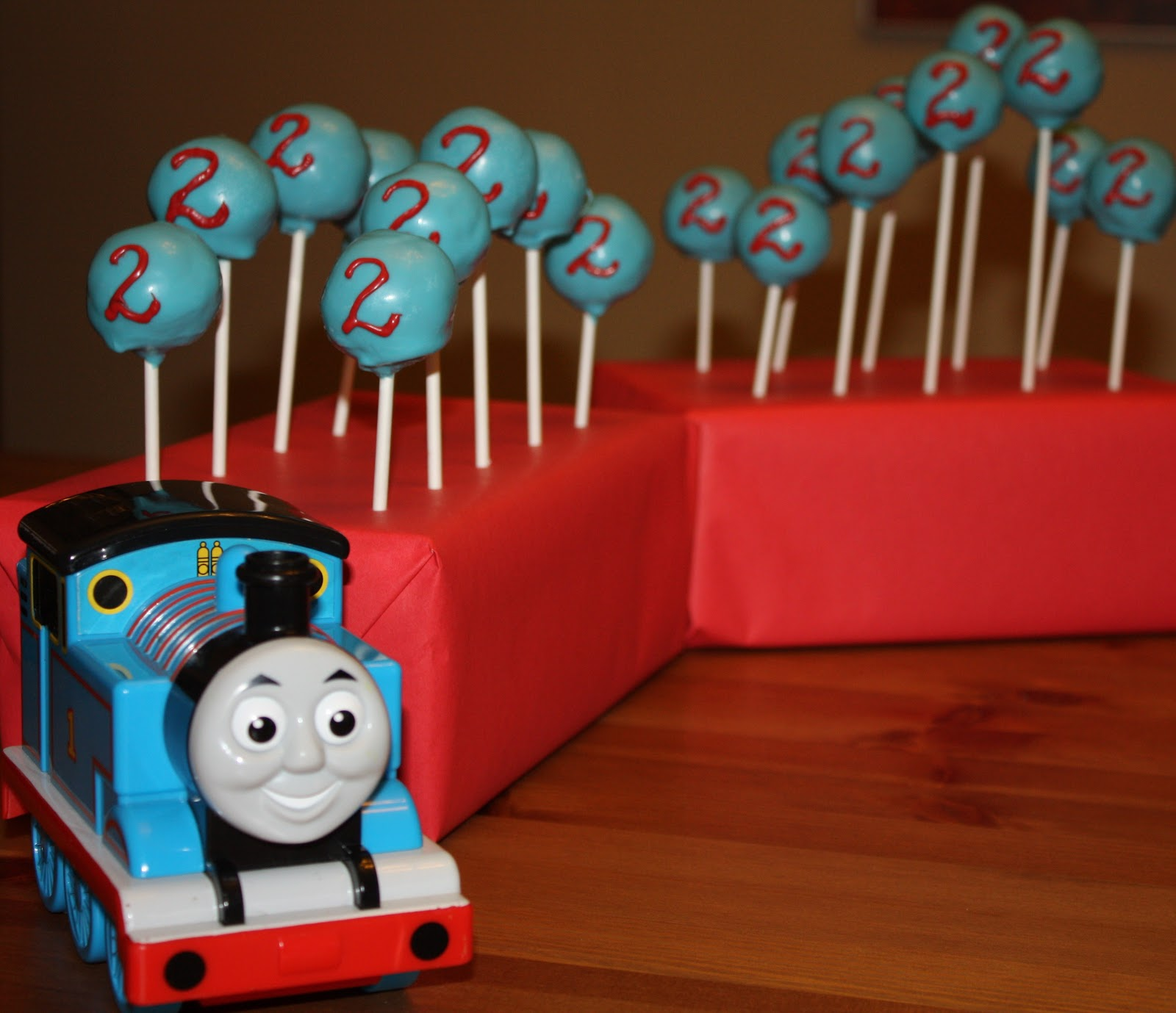 Red Thomas The Train Cake Lily S Cakes And Breads Birthday Cake