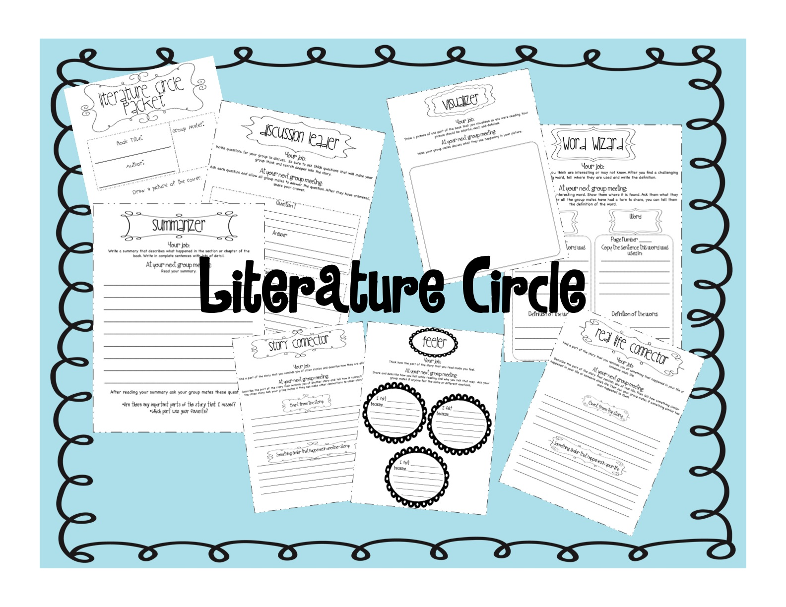 literature circle connector