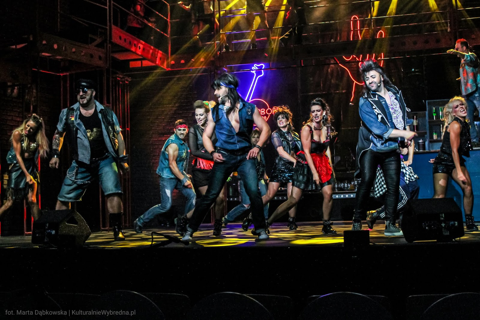 musical Rock of Ages Teatr Syrena Warszawa