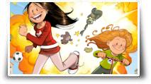 le jeu vidéo Les Sisters Show Devant