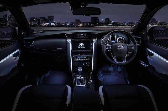 Interior New Fortuner 2020