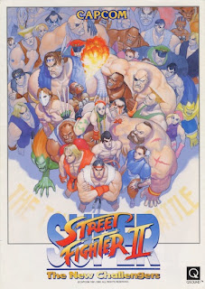 super street fighter ii 2 sf2 streetfighter poster