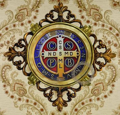 Quadro decorativo Medalha de São Bento