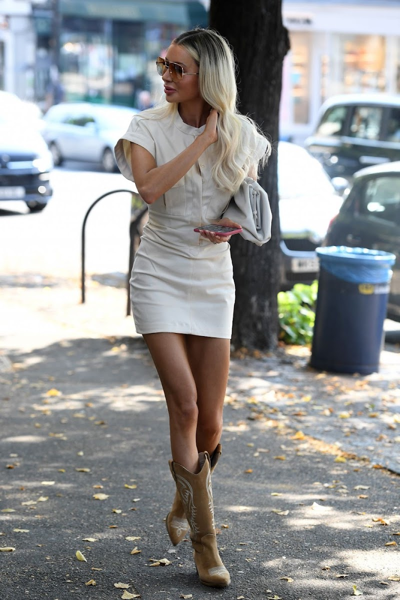 Olivia Attwood Clicked Outside  in London 15 Sep -2020