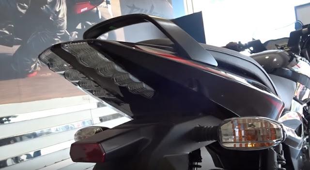 New 2017 Bajaj Pulsar 150 Taillamp