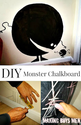 DIY Monster Chalkboard