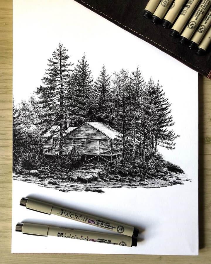 01-Cabin in the woods-Henk-Jan Hospes-www-designstack-co