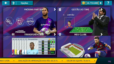 Dream League Soccer 2019 Mod eFootball PES 2020
