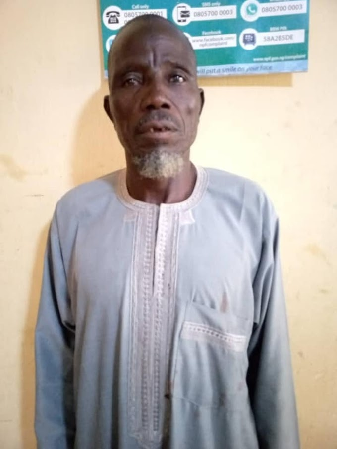Man, 60, rapes neighbour's 5-year-old daughter in Bauchi
