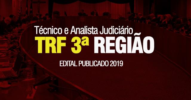 Concurso do TRF-3: Técnico e Analista Judiciário