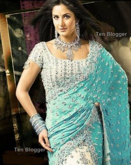 Katrina Kaif In Saree