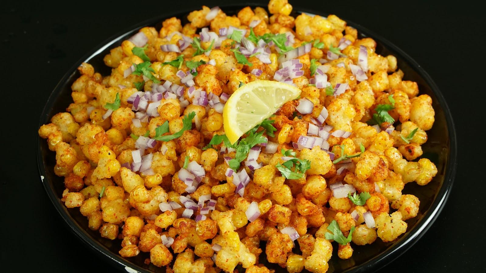Crispy Corn recipe   Steffi's Recipes