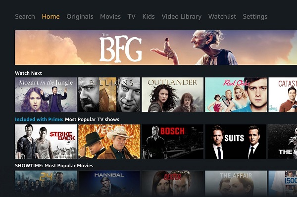 Amazon Prime Video app for Android TV released