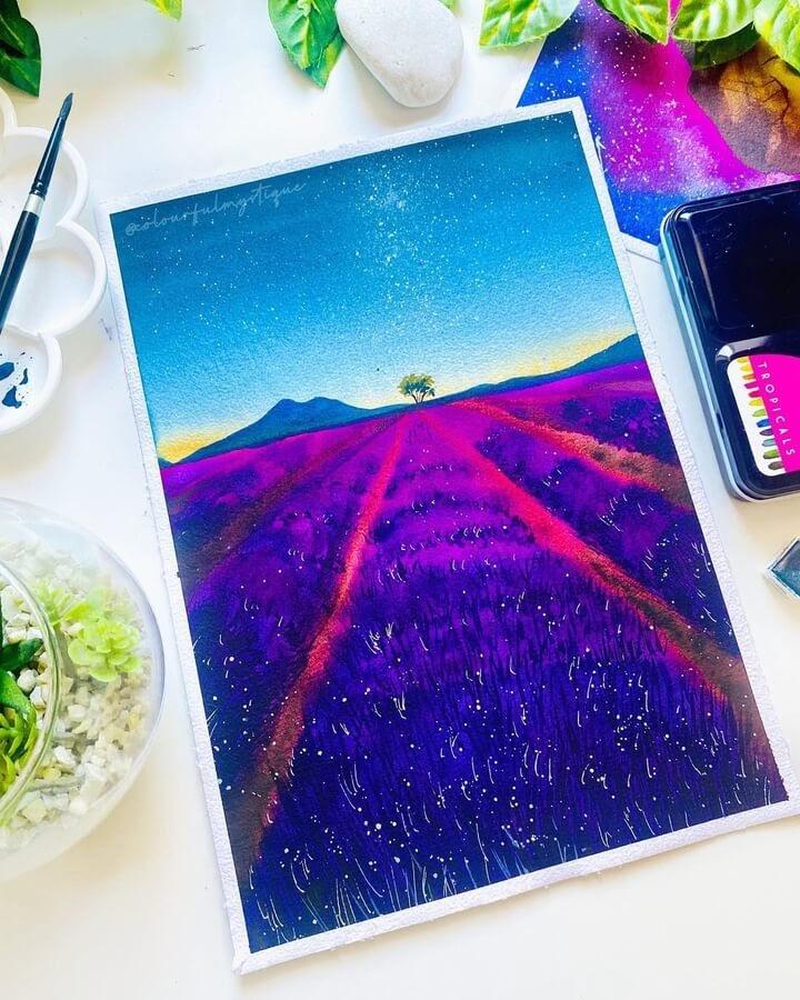 04-Lavender-field-at-dusk-Geethu-www-designstack-co
