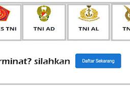 Persyaratan Pendaftaran TNI AD/AU/AL