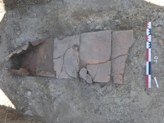 Paleochristian necropolis excavated in France