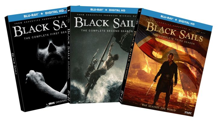 COMPLETED: Enter Our Free #BlackSails S1-S3 Blu-Ray Pack Giveaway