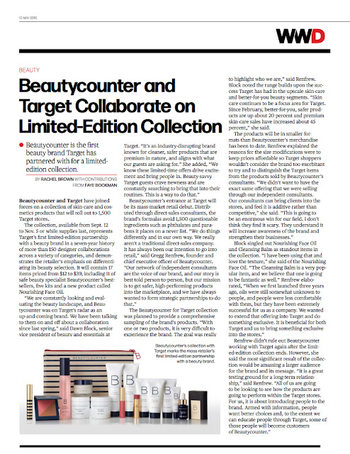 Safer Beauty into the Hands of Everyone with Beautycounter and Target