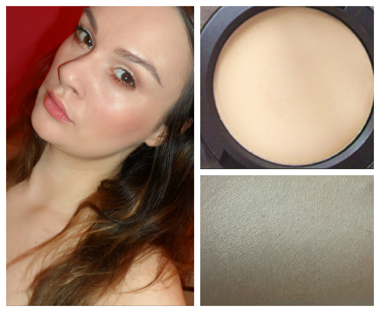 My take on the MAC Cream Color Base in Hush: