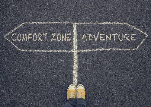 zona, zona nyaman, zona mudah, zona tantangan