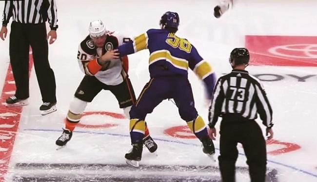 MacDermid Deslauriers nhl hockey fight