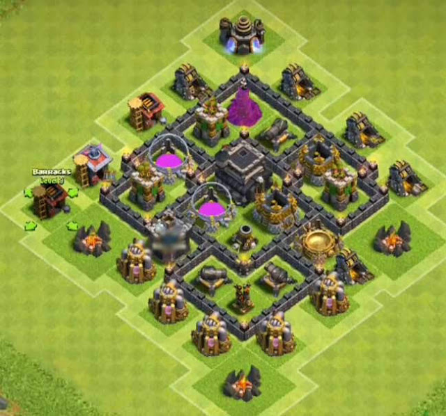 Base COC TH5 Farming 5