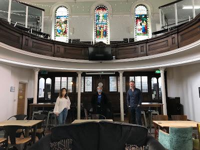 Interior of The Trinity, George Street, Burton