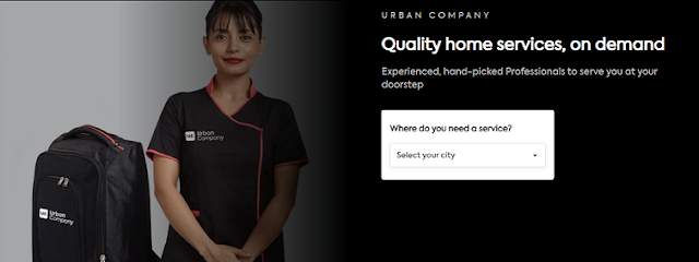 Urban Company business model and marketing strategy