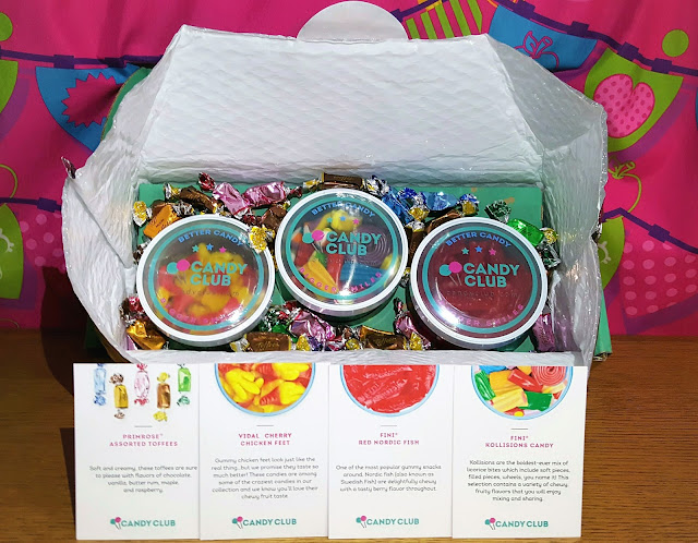 Reward Your Tastebuds With Candy Club + Giveaway