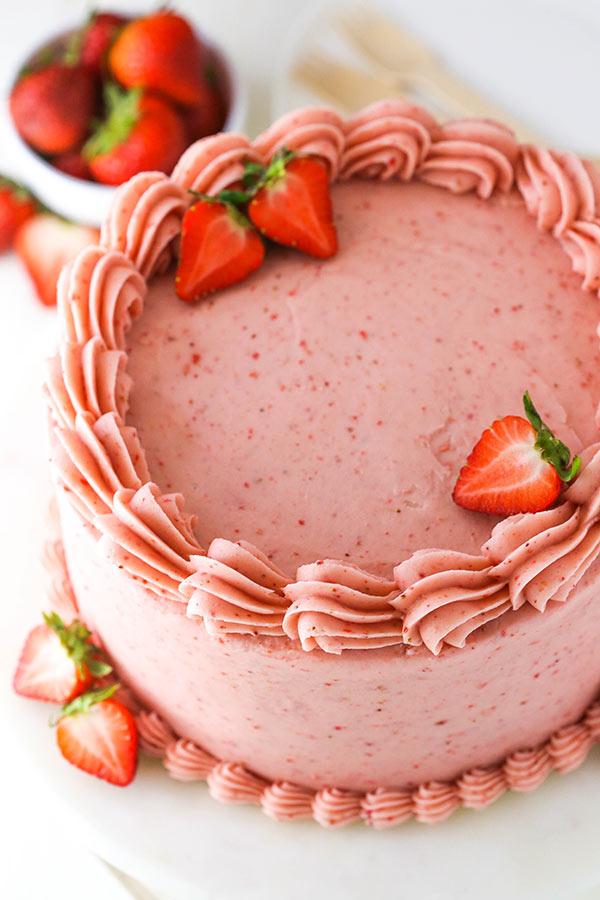 best Fresh Strawberry Cake recipes