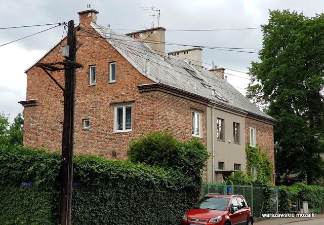 Warszawa Warsaw Żoliborz ulice Żoliborza wille architektura architecture