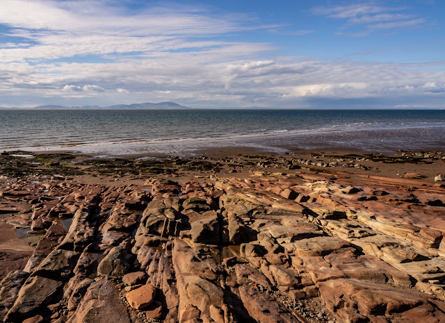 Photo of another view across the Solway Firth to Scotland