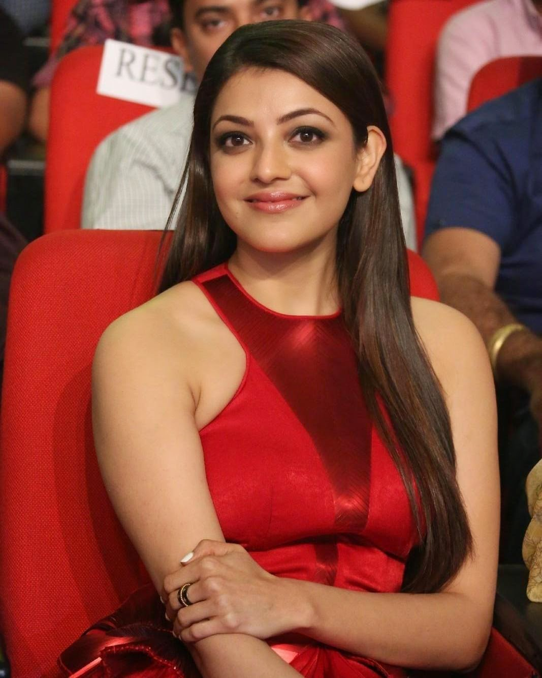 Kajal Aggarwal At Temper Movie Audio Launch  Telugu Movie -5843